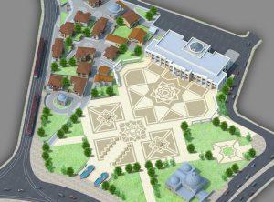 Konevi Kent Meydanı ve Katlı otoparkı